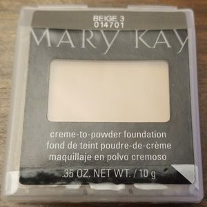 Mary Kay Creme-to-Powder Foundation Beige 3